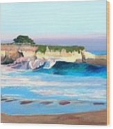 Blacks Beach - Santa Cruz Wood Print