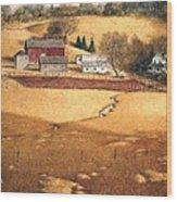 Blackshear Hollow Wood Print