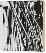 Blacksmith Iron  Wood Print
