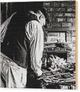 Blacksmith Wood Print