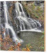 Blackwater Falls-2a Blackwater Falls State Park Wv Autumn Mid-morning Wood Print