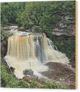 Blackwater River Falls West Virginia Wood Print