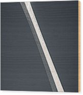 Blade Wood Print