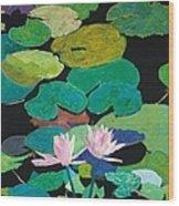 Blairs Pond Wood Print