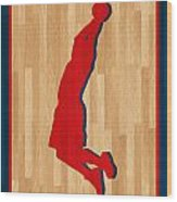 Blake Griffin Los Angeles Clippers Wood Print