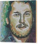 Blake Shelton  Country Singer Wood Print