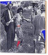 Blanche Barrow Captured July 24 1933 Dexfield Park Missouri  Wood Print