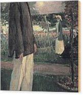 Blanche, Jaques 1861-1942. Jean Cocteau Wood Print