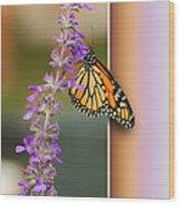 Blank Greeting Card 3 Wood Print