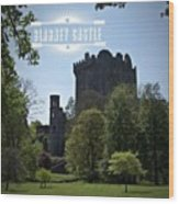 Blarney Castle Where You Must Kiss The Wood Print