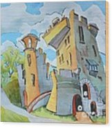 Blarney_castle_ii Wood Print