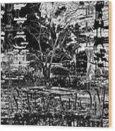 Bleak Renewal Wood Print