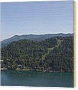 Bled Vista Wood Print