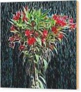 Blessed Rain Wood Print
