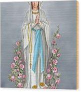 Blessed Virgin Wood Print