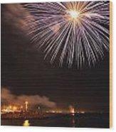Blessing Of The Fleet - Fremantle 2am-112472 Wood Print