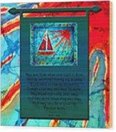 Blessings 1 Wood Print