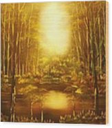 Blinding Light-original Sold-buy Giclee Print Nr 36 Of Limited Edition Of 40 Prints   Wood Print