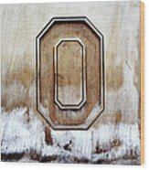 Block O Wood Print