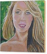 Blonde Wood Print