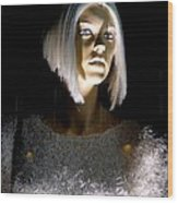Blonde Highlights Wood Print