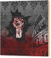 Blood Lust Wood Print