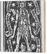 Bloodletting, 1518 Wood Print