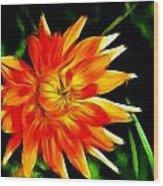 Bloom Tine Wood Print