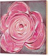 Bloom V Wood Print