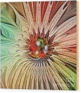 Blooming Beauty Wood Print