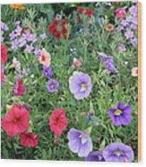 Blooming Extravaganza Wood Print