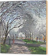 Blooming In Niagara Park Wood Print
