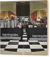Bloomingdales Showroom Floor Wood Print