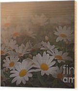 Blossom Wood Print by Sylvia  Niklasson