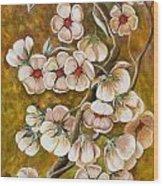 Blossom Time Wood Print