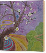 Blossoms 6 Wood Print