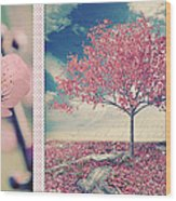 Blossoms Of Spring Wood Print