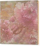 Blossoms Splender Wood Print