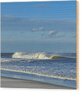 Blowin' In The Wind Seaside Heights New Jersey Wood Print