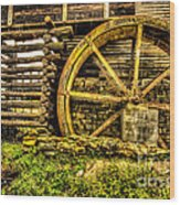 Blowing Cave Mill Est.1880 Wood Print