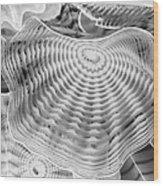 Blown Glass Infrared Wood Print
