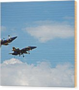 Blue Angels 1 Wood Print