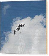Blue Angels 2 Wood Print