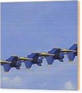 Blue Angels 7 Wood Print
