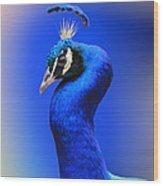 Blue Boy Wood Print