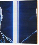 Blue Brothers Wood Print