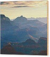 Blue Canyon Wood Print