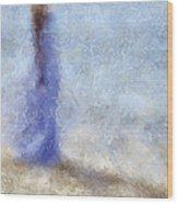 Blue Dream. Impressionism Wood Print