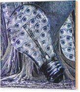 Blue Eyes Wood Print by Betsy Knapp