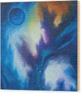 Blue Giant Wood Print